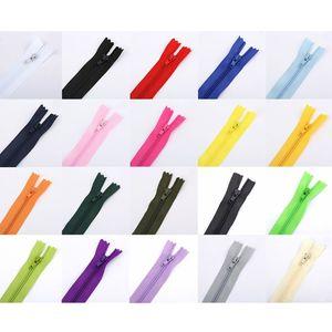 10 шт 20 см закрытые нейлоновые невидимые молнии для самостоятельного шитья сумочки