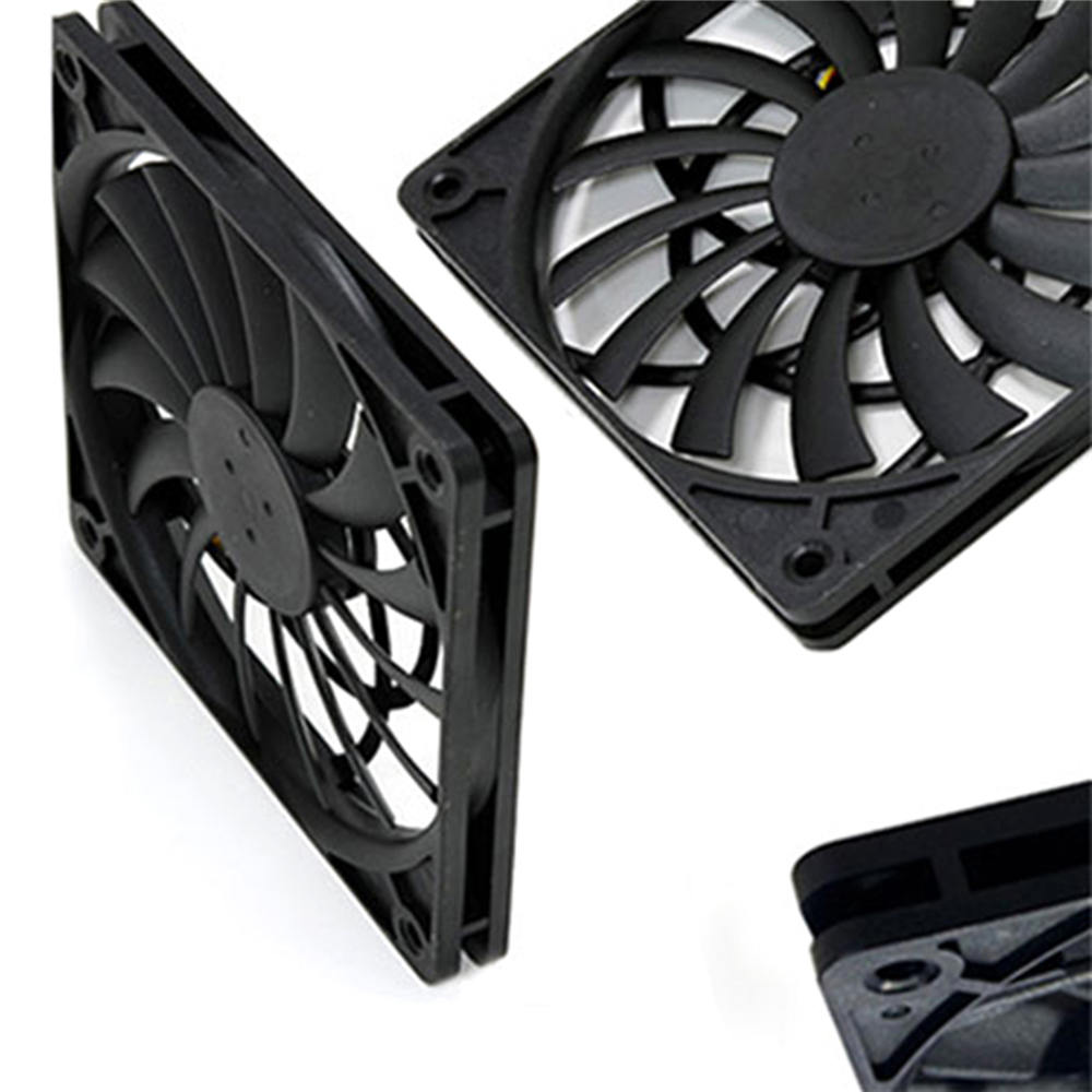 Image 3 - 1pc Scythe PWM Temperature Control Fan Ultra Thin Cooler Fan SY1212SL12H P 4 Pin 12 * 12 * 1.2cm Replacement FanReplacement Parts & Accessories   -