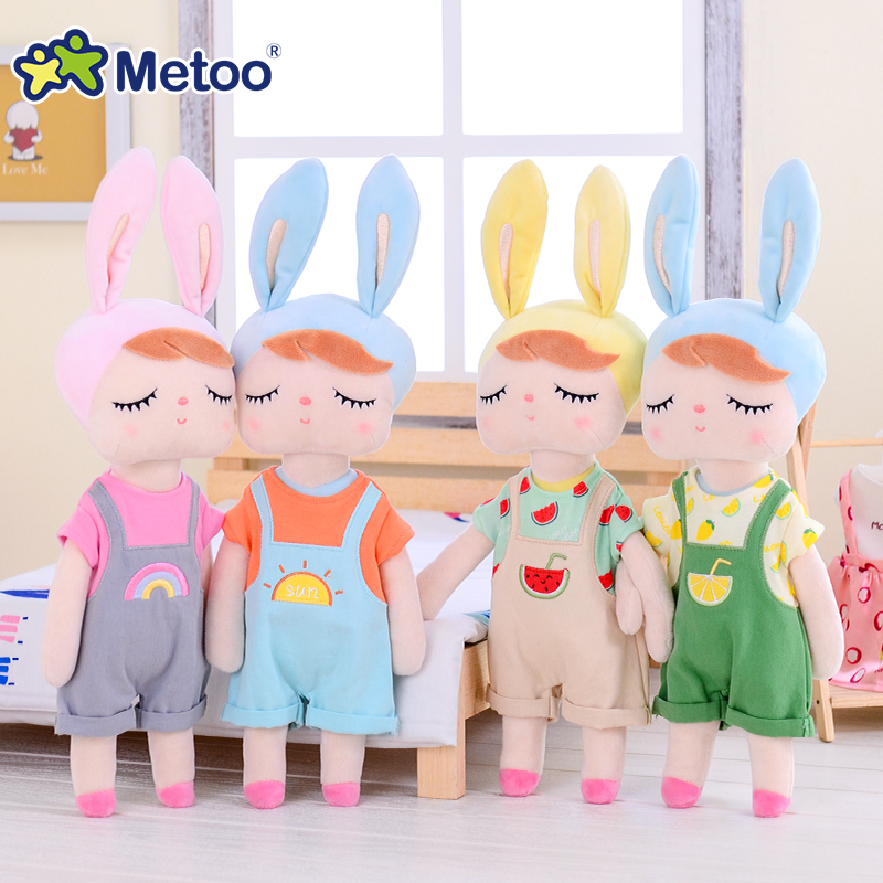 2019 New Style Metoo Plush Toys Dress Up Angela Dolls Dressing Doll Rabbit Cute Dreaming Girl Gift For Kids Children