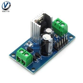 5V 6V 9V 12V LM7805 LM7806 LM7809 LM7812 DC/AC trzy napięcia na zaciskach Regulator moduł zasilania z zabezpieczeniem przed przegrzaniem|Regulatory/stabilizatory napięcia|   -