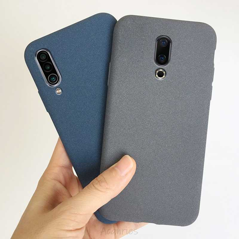 Pasir Matte Kasus untuk Meizu 17 16 16X16Th 15 16xs 16S 16T 6T pro Plus Lite Catatan 9 8 6 Anti Sidik Jari Soft Back Cover Funda