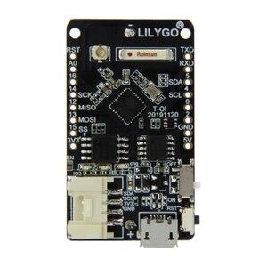 Image 2 - LILYGO®TTGO T OI ESP8266 Chip recargable 16340 soporte de batería y T OI WS2812 RGB placa de expansión