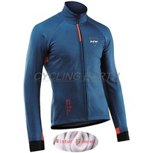 Northwave 2019 Winter Jas Thermische Fleece Mannen Wielertrui Kleding Mountain Outdoor Triathlon Slijtage Fiets Kleding NW(China)