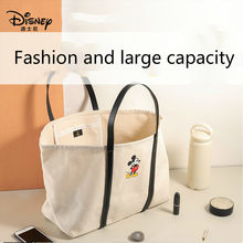 Disney Mickey Large Capacity Bag Female 2020 New Trendy Net Red Tote Bag Wild Ins Fashion One-shoulder Handbag(China)