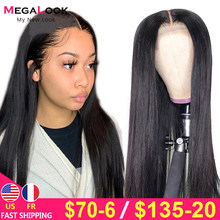 Lace Closure Wig 4x4 Closure Wig Bone Straight Lace Front Wig 180 Remy 30inch Lace Wig Brazilian Human Hair Wig Lace Closure Wig