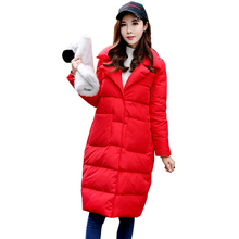 New Women's Long Down Jacket 2019 Winter Down