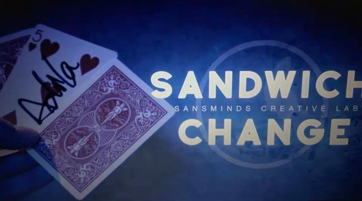 2020  Sandwich Change By Sansminds , Magic Trick  (Version:Chinese Language)
