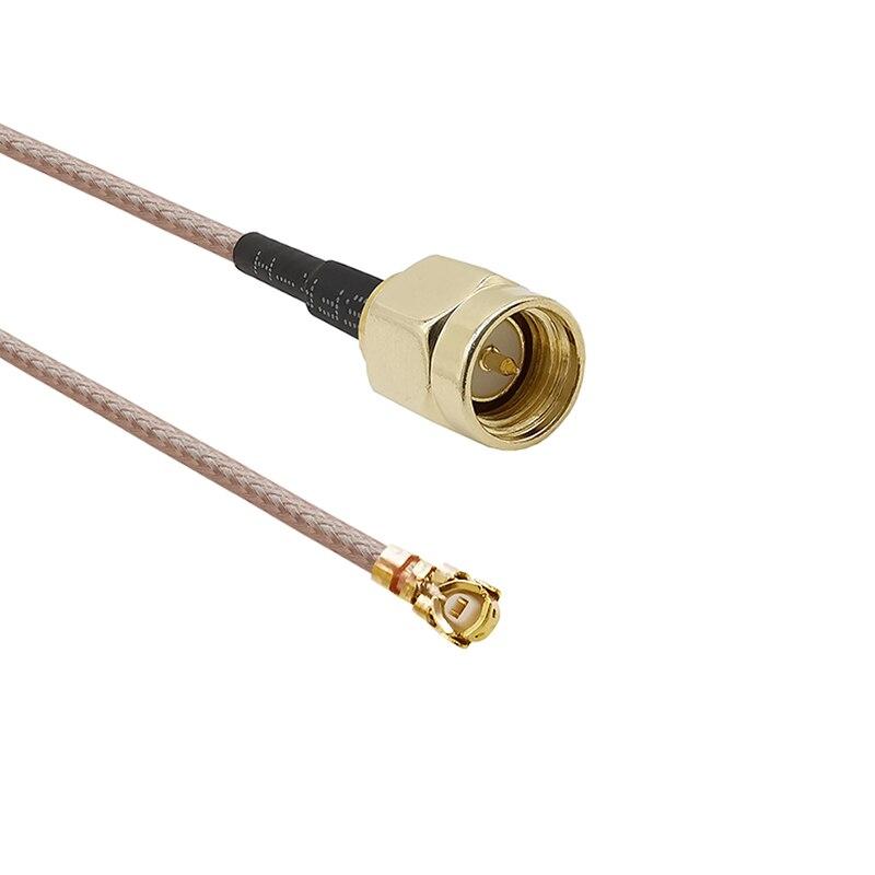 Антенна конвертер кабель U. FL/IPX к SMA разъем RG178 свиной хвост кабель SMA вилка к IPX IPEX антенна, WiFi кабель
