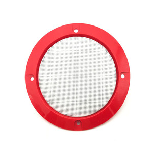 Image 4 - 3 inch Colorful Replacement Round Speaker Protective Mesh Net Cover Grille Circle Metal Audio Speaker Accessories