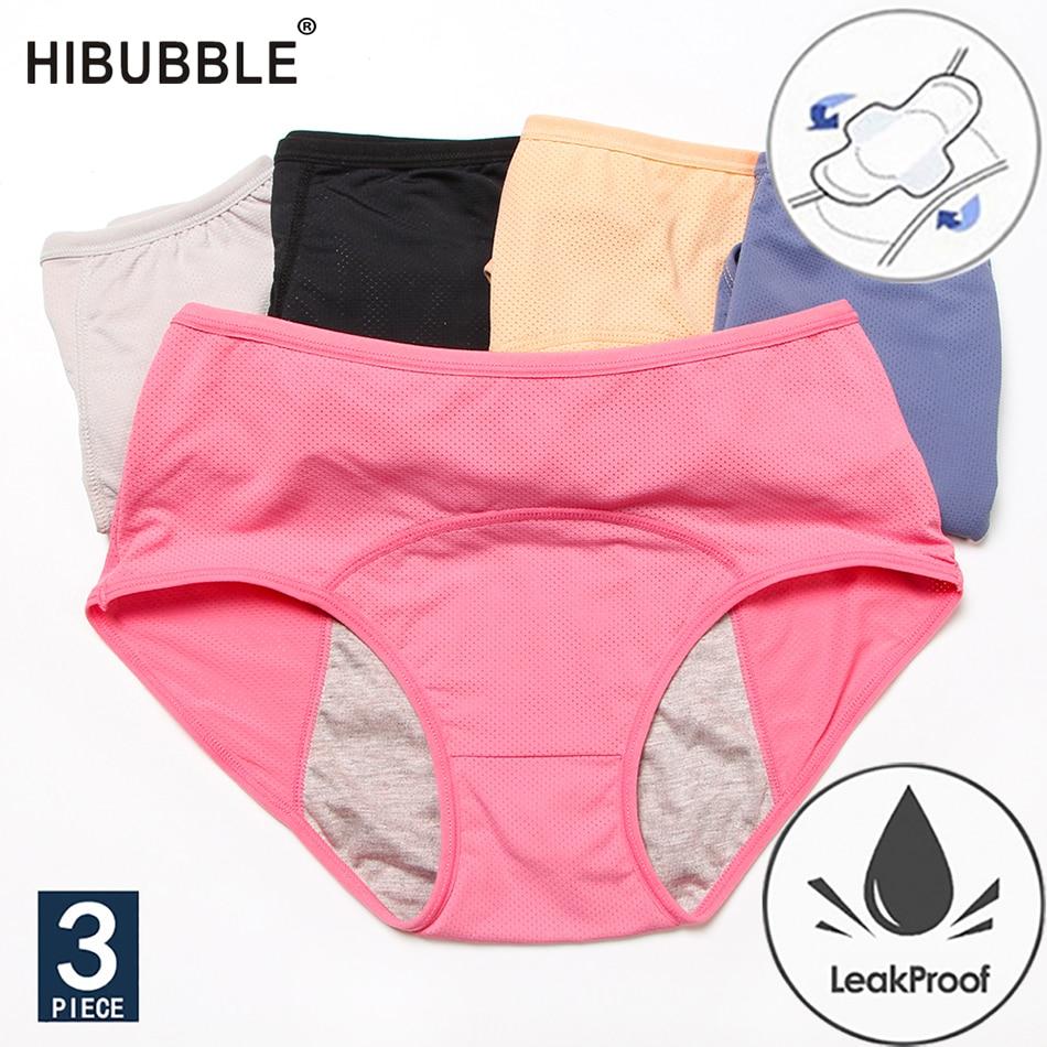 Размера плюс нижнее белье L-8XL гигиенические трусики физиологические трусы герметичность Для женщин нижнее белье период сетчатые детские т...