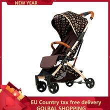Baby-Carriage Stroller Pushchair Buggy Lightweight Plane 2-In-1 Folding Europe Original