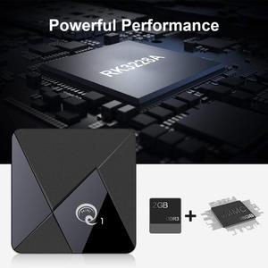 Image 3 - الذكية أندرويد 9.0 صندوق التلفزيون Q1 Mini Rockchip RK3328 2GB 16GB مشغل الوسائط 2.4 واي فاي دعم صوت بعيد تي في بوكس أندرويد مجموعة صندوق