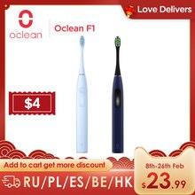 Oclean F1 brosse à dents électrique sonique USB charge rapide 30 jours de vie de la batterie brosse à dents Ultra sonique adulte avec 3 Modes de nettoyage