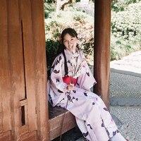 Classic Women Kimono Japanese National Style Kimonos Yukata New Feeling Clothes Obi Traditional Geisha Cosplay Costume Haori