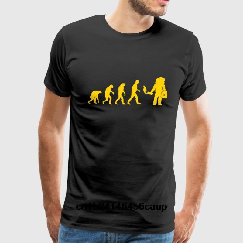 100% Cotton O-neck Custom Printed Men T shirt beekeeper evolution Women T-Shirt