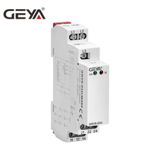 цены Free Shipping GEYA GRV8-03 Phase Sequence Relay 1SPDT OR 2SPDT 8A 10A Elevator Relay Phase Failure Protection
