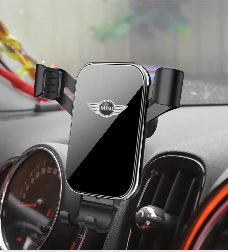 Car Mobile Phone GPS Holder Bracket Decorations for Mini Cooper Countryman F60 R56 R55 R60 F55 F54 Accessories Car Styling