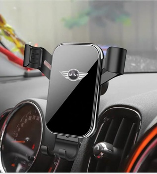 Car Mobile Phone GPS Holder Bracket Decorations for Mini Cooper Countryman F60 R56 R55 R60 F55 F54 Accessories Car Styling 3 1a display dual usb car charger universal mobile phone car charger for mini cooper countryman f54 f55 f60 r55 r56 r60 r61