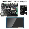 """Duet 2 Wifi V1.04 Motherboard Geklont Reprap Firmware 32bit Duet2 WiFi Board + 7 """"Touch Screen Controller 3D Drucker teile-in 3D Druckerteile & Zubehör aus Computer und Büro bei"""