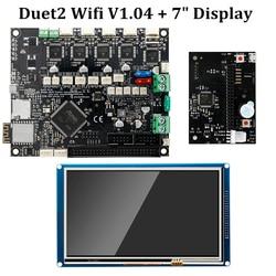 "Duet 2 Wifi V1.04 płyta główna sklonowana Reprap Firmware 32bit Duet2 WiFi Board + 7 ""kontroler ekranu dotykowego części drukarki 3D|Części i akcesoria do drukarek 3D|Komputer i biuro -"