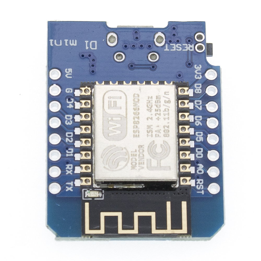 Image 2 - 50pcs D1 mini   Mini 4M bytes Lua WIFI Internet of Things development board based ESP8266 by WeMos-in Integrated Circuits from Electronic Components & Supplies