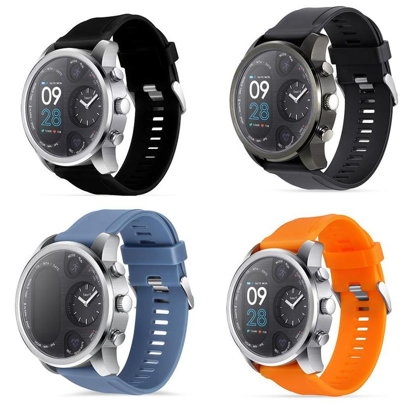 T3 PRO Smart Watch Dual Time Waterproof IP67 Heart Rate Monitor Bluetooth Activity Tracker Smartwatch Sports For IOS Android