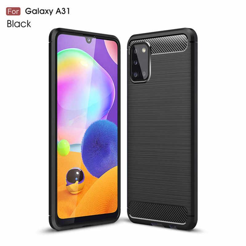 Na pokrycie Samsung Galaxy A31 przypadku TPU miękki futerał do Samsung 31 pokrywa Samsung M31 M21 A71 A51 a41 A11 S20 Ultra A31 przypadku
