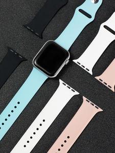 Dimu спортивно-часовой резиновой полосы-полосы серии iwatch яблоко мягкой силикона для 5/4/3-/.