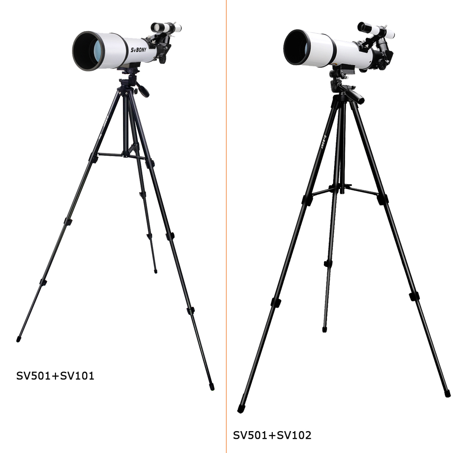 Hot DealsSVBONY SV501 70420 F6 HD professional astronomical telescope night vision deep deep