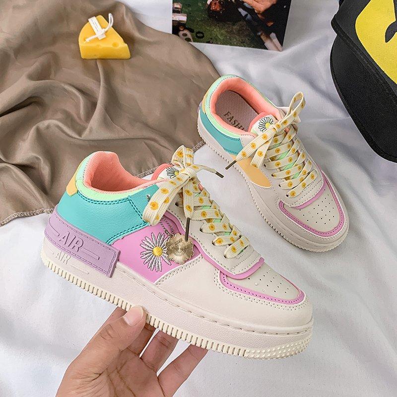 New Sneakers Women Casual Shoes Mesh