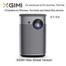 Xgimi Halo Smart Draagbare Mini Projector Android 9.0 Wifi 1080P 3D Home Theater Met Batterij Google Os Beamer Proyector hdmi Usb