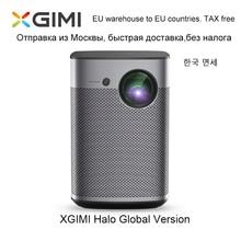 Xgimiハロースマートポータブルミニプロジェクターのandroid 9.0 wifi 1080 1080p 3Dホームシアターバッテリーgoogle osビーマーproyector hdmi usb