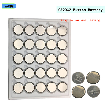 New 100pcs Cr2032 Button Batteries DL2032 5004LC 2032 3v Coin Cell Battery Lithium for Watch,Calculator Battery