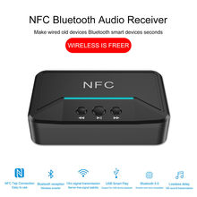 35 @ WiFi NFC Bluetooth Stereo Audio Receiver Portable Nirkabel Bluetooth Adaptor Портативная Колонка Caixa Som De(China)