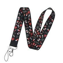 Cartoon Doctor Nurse Neck Strap Funny Lanyard For Keys ID Badge Holder DIY Hang Rope