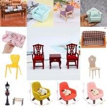 Хит продаж стул для продажи подушка стул диван для дивана кровати кукольный домик уличный светильник мебель лампа игрушки Кукольный дом ук...