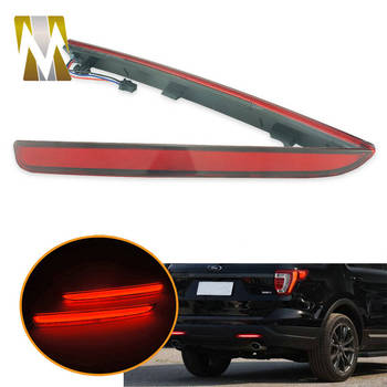 For Ford Explorer 2016 2017 Tail Light For Ford Explorer 2016 Accessories Rear Bumper Reflector Lights For Ford Explorer 2017 фото