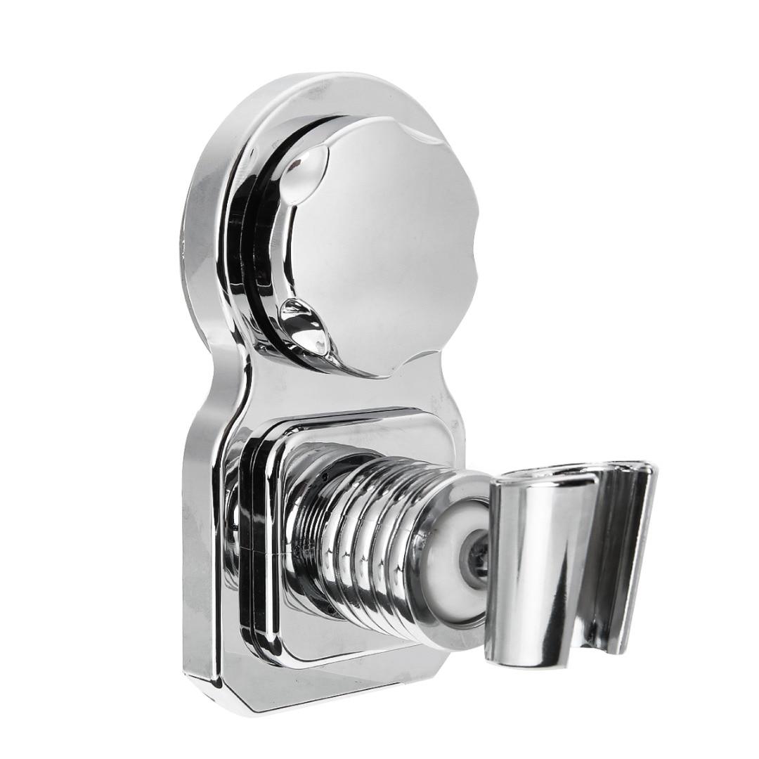 Universal Chrome Bathroom Wall Mounted Shower Head Handset Strong Suction Holder Bathroom Part bathroom accessories