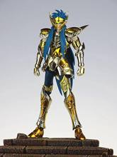 CS modèle Saint Seiya en tissu métallique double, EX Camus verseau doré avec armure de combat