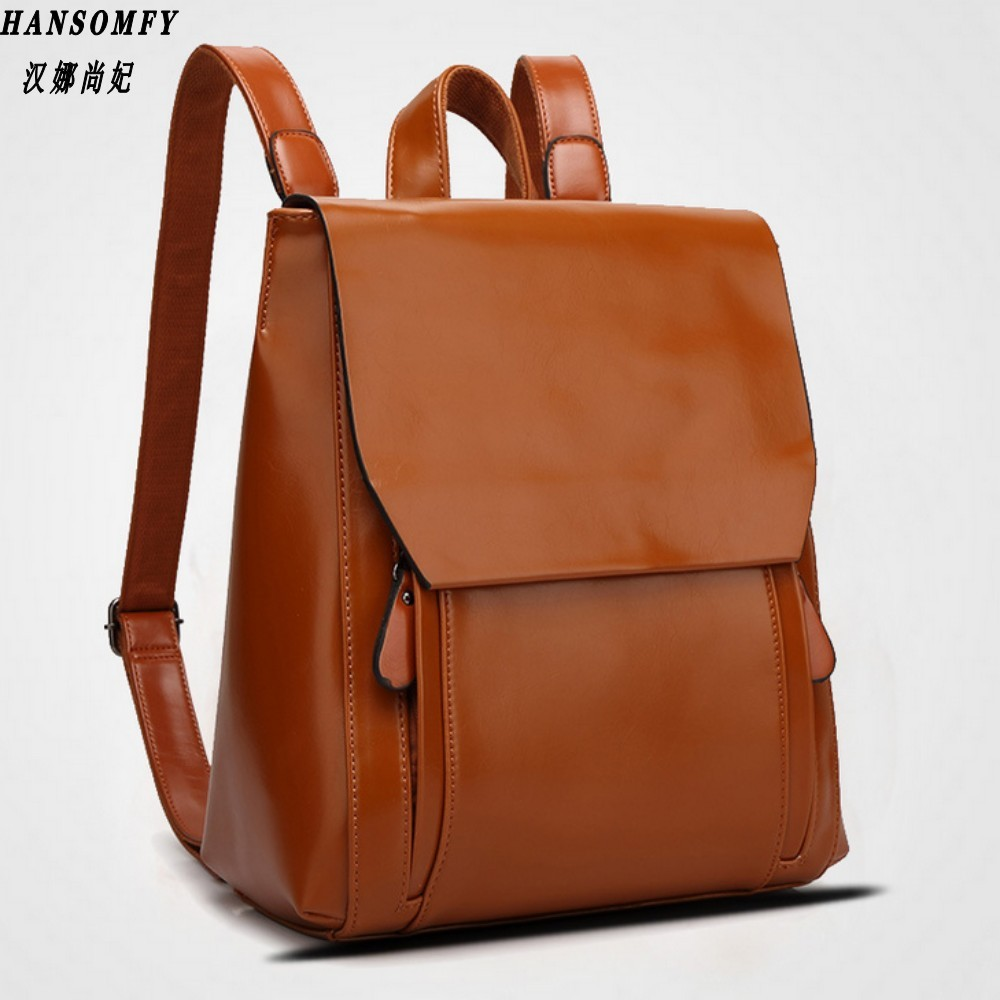 100% Genuine Leather Women Backpack 2019 New Cow Leather Women Backpack Mochila Feminina School Bags For Teenagers