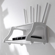 1pc Wand Mount Wifi Router Lagerung Rack Lagerung Rack Set-top Box Router Rack Wohnzimmer Lagerung Halter(China)