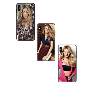 Gossip Girl Blake Lively For Huawei P40 P30 P20 P10 P9 P8 Lite Plus Pro 2017 P Smart 2019 Black Soft TPU Cell Phone Case Cover image