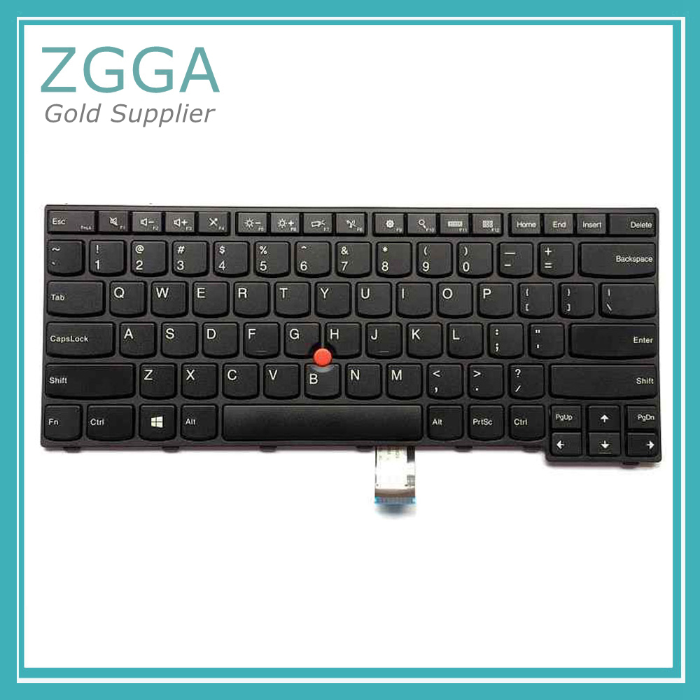 Genuine New Laptop Keyset For <font><b>Lenovo</b></font> ThinkPad E450 E450C E455 <font><b>E460</b></font> E465 US English <font><b>Keyboard</b></font> 04X6101 04X6141 04X6181 image