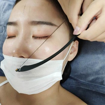 2019 Eyebrow Mapper -Eyebrow Mapper with Strings- Microblading Measuring Tool String Make Up Shaper Kit Template ruler Design