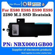 Nbx0001gb00 para lenovo thinkpad e580 e585 e590 e595 nvme 2280 m. 2 carcasa para disco duro ssd com suporte de calor