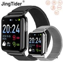 """V5 1.3 """"HD Bluetooth inteligentny zegarek PPG + ekg + SPO2 inteligentny zegarek bransoletka tętno ciśnienie krwi tlen Tracker do monitorowania aktywności fizycznej IP67"""