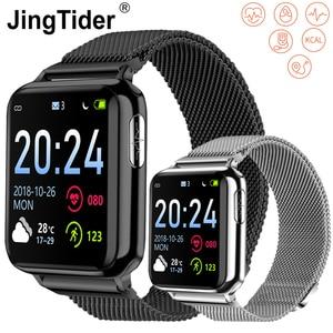 """Image 1 - V5 1.3 """"HD Bluetooth montre intelligente PPG + ECG + SPO2 Bracelet intelligent montre fréquence cardiaque pression artérielle moniteur doxygène Fitness Tracker IP67"""