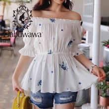 Dabuwawa новая летняя женская рубашка с принтом сексуальная