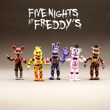 Hot Toys Anime Figure Five Night At Freddy Action Fnaf Bear Pvc Model For Children Birthday Gifts