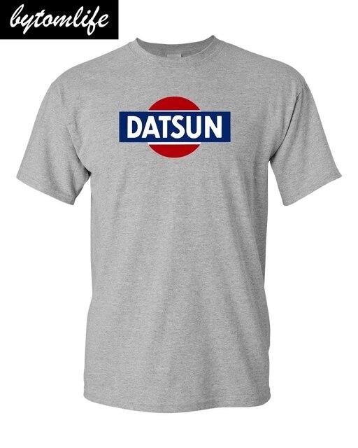 Camiseta logotipo retro branco datsun novo! T 240z 260z 280z zx 510 fairlady 2019 nova marca de moda t camisa moda camisetas gráficas